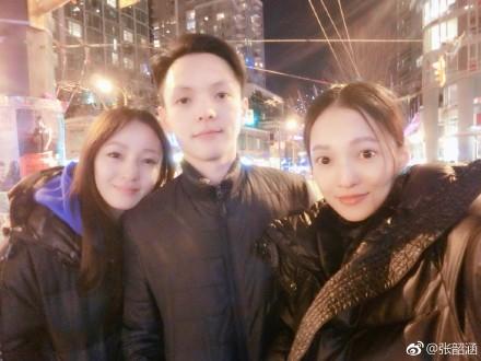 张韶涵晒与弟弟妹妹合照 姐弟三人长相神似!