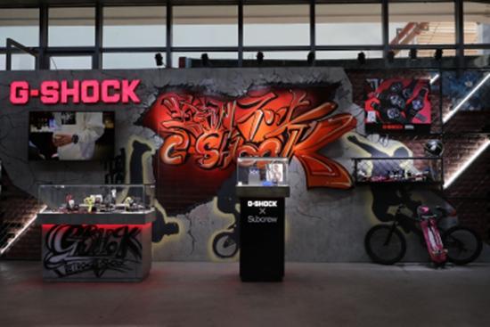 卡西欧 天猫超级品牌日,G-SHOCK 35周年沸腾西安