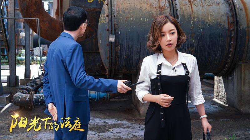 《阳光下的法庭》热播 瑛子刘之冰二度合作演父女