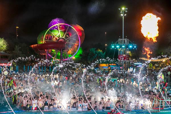 长隆水上乐园4月29日全面开启夜场 每晚玩水嗨电音至9点!