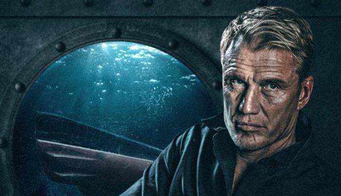 《深海越狱》曝角色海报,巨星双雄争霸海底
