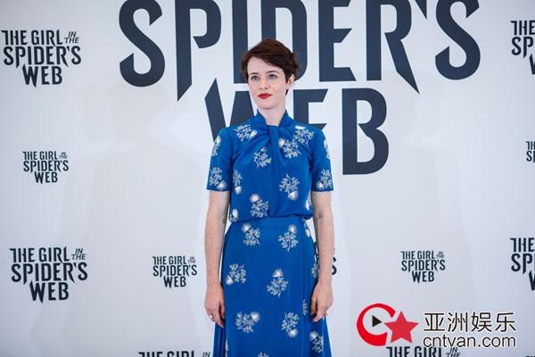 """电影《蜘蛛网中的女孩》主演出席欧洲电影展  全新""""莎兰德""""演绎别样风采"""