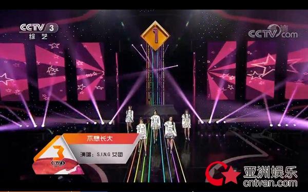 SING女团三登央视《开门大吉》 出色表现赢全场喝彩