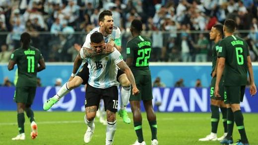 阿根廷晋级 苏醒激动怒吼!