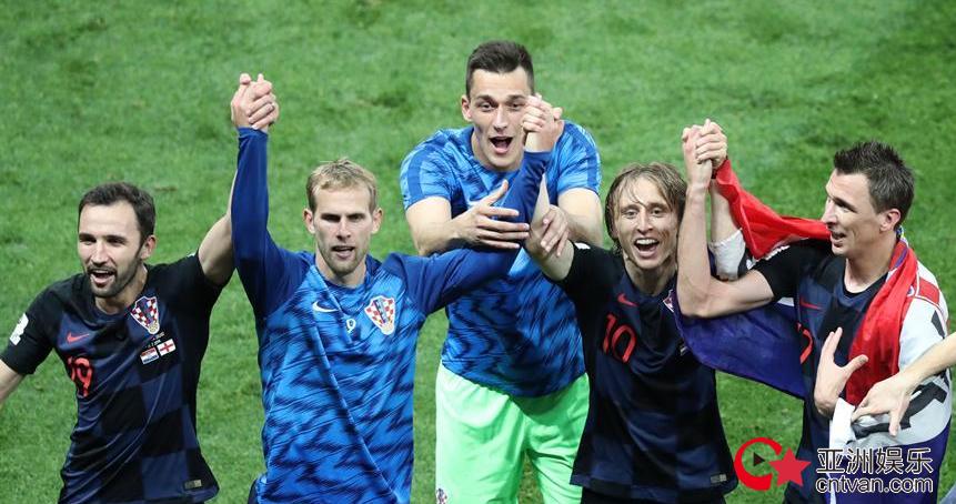 克罗地亚首进决赛  加时赛淘汰英格兰!
