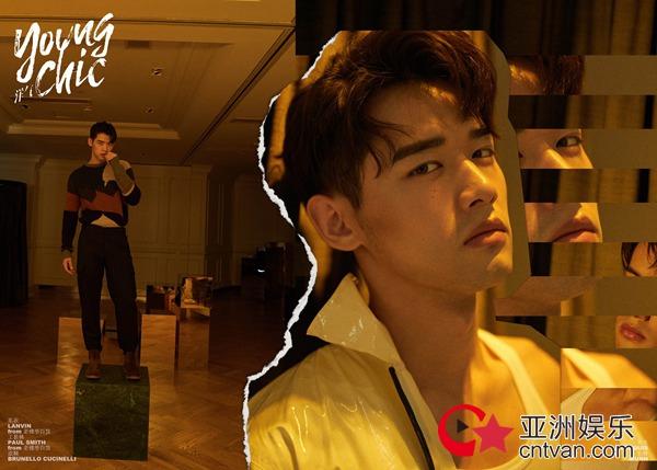 刘冬沁时尚大片曝光    个性前卫演绎浪漫温暖男友形象