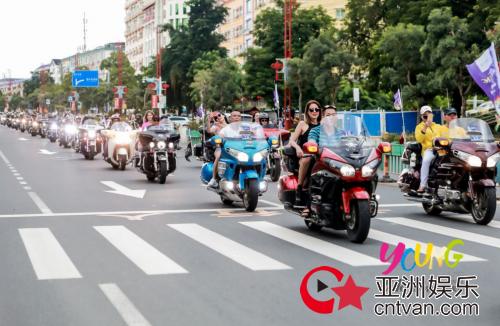 2018海南·琼中青年狂欢节开幕,千名青年激情狂欢