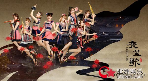 SING亮相亚洲新歌榜 民族风打歌服闪耀红毯