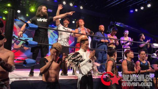 OWE周秀IP发布会,向世界发出了声音《东方有摔角》