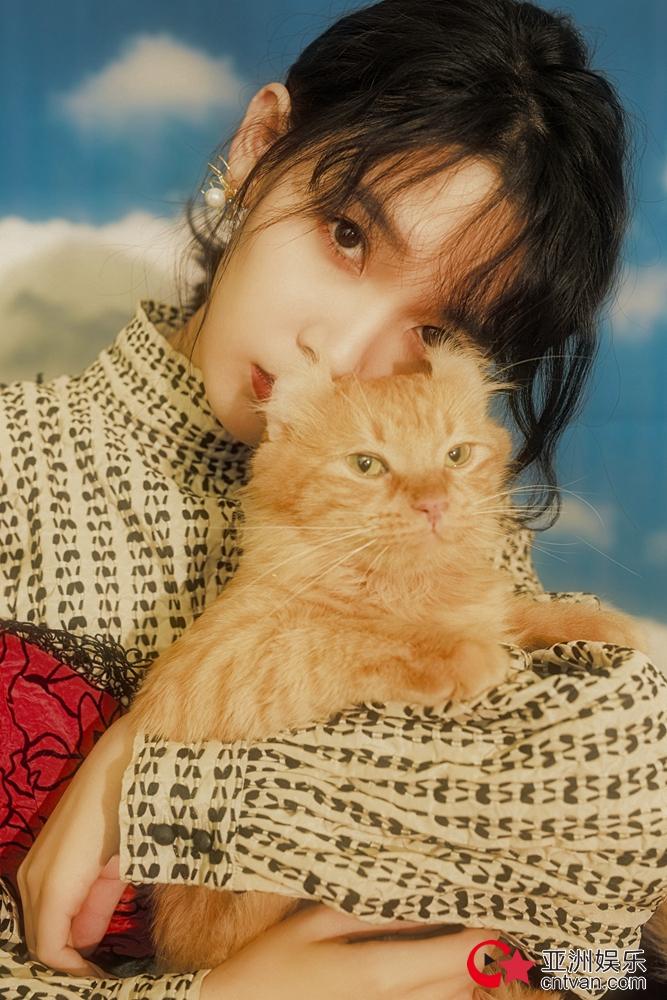 猫系少女陈瑶 慵懒娇俏气质百变