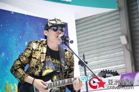 上海展持续发力 音乐人祁隆、全民直播J老师携手森然嗨翻全场