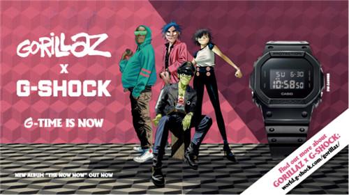 经典与传奇 风潮再起——G-SHOCK×GORILLAZ推出合作限量礼盒