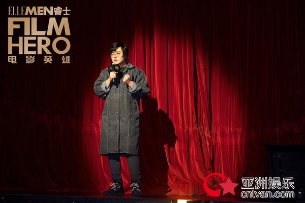 王建国出席盛典脱口秀开场 致敬电影幕后英雄