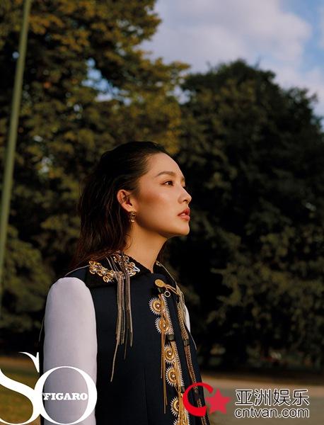 李沁登费加罗封面 别具风格演绎艺术派摩登