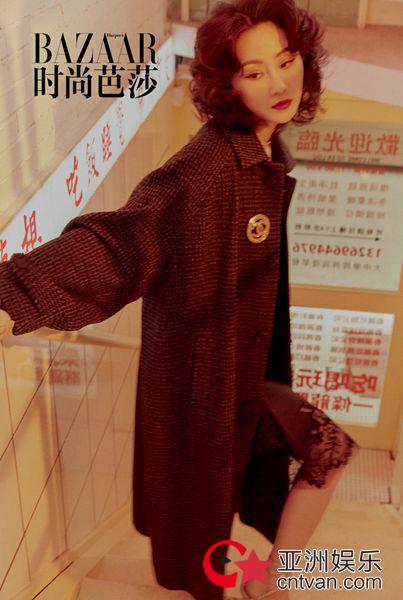 林鹏化身港风女郎 大片重返80年代演绎复古青春