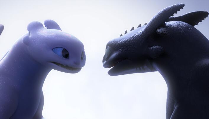 《驯龙高手3》甜蜜来袭 没牙仔、光煞情人节有爱互动疯狂撒糖
