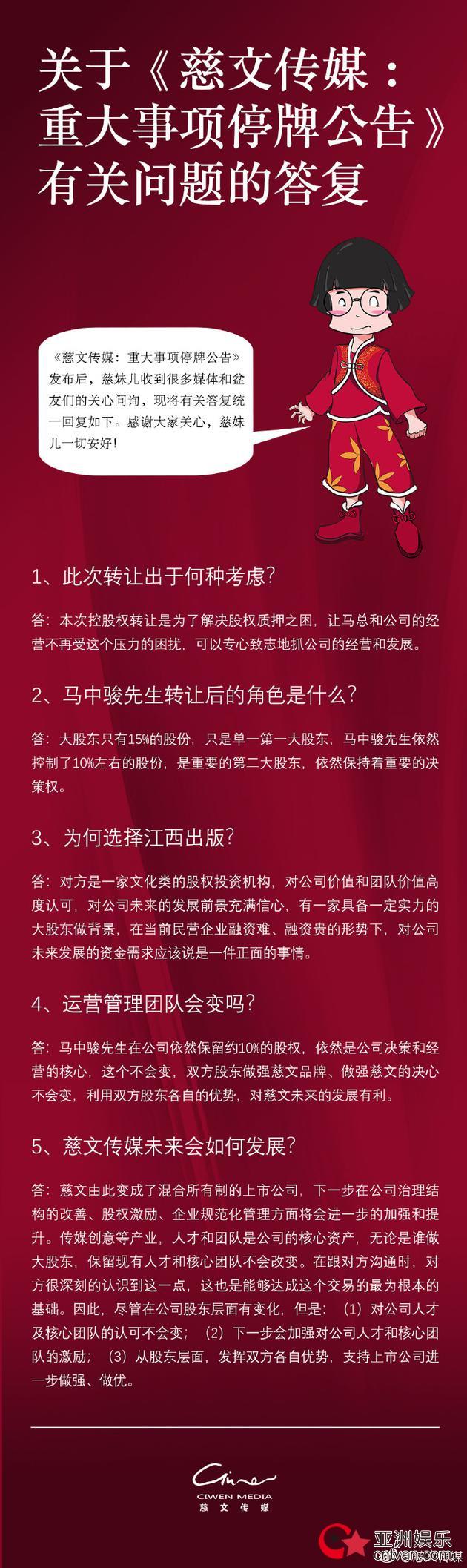 慈文传媒宣布停牌  曾出品过《花千骨》、《楚乔传》、《老九门》等热门电视剧