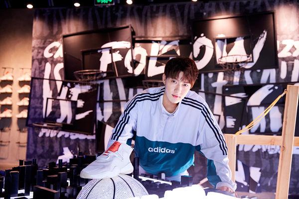 陈子由运动系男生上线 助阵时尚新品发布尽显活力本色