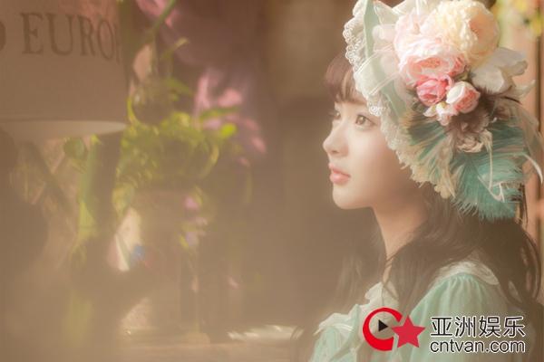 石雪婧公主风夏季写真曝光 花中少女甜美可爱