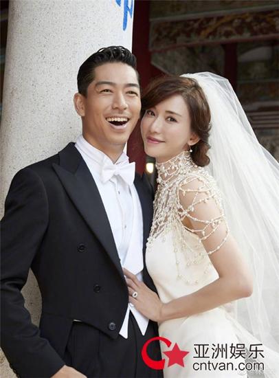 林志玲婚后首发文 晒婚礼现场图致谢