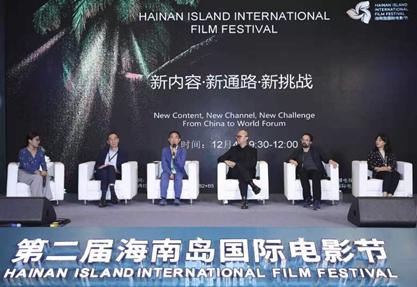 移动电影院亮相海南岛国际电影节,助力中国电影破壁出海