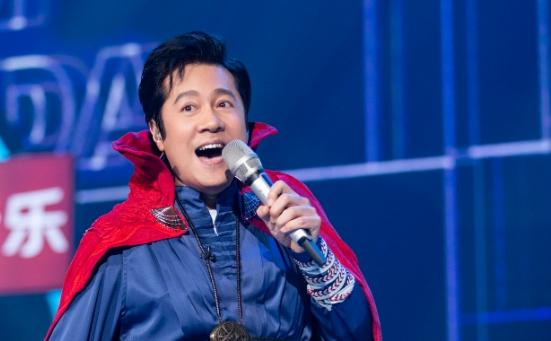 """蔡国庆《嗨唱转起来》变身奇异博士 玩转时间魔法全场放送""""吉祥的光"""""""