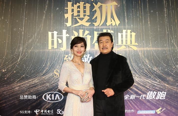 2019搜狐时尚盛典红毯开启  赵雅芝造型典雅 郑爽轻盈飘逸