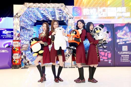 腾讯We特展活动:SNH48新年EP《青春之翼》线下首卖