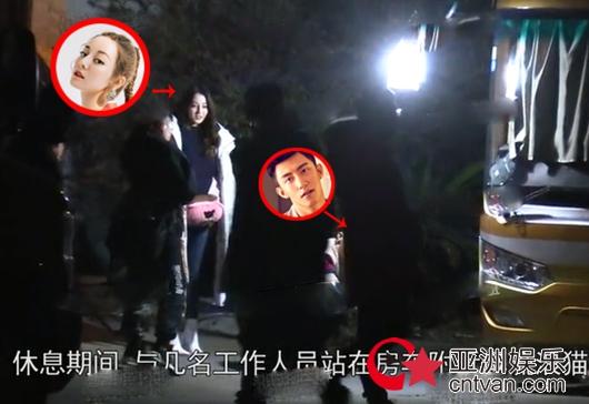 迪丽热巴黄景瑜恋情曝光 同回公寓过夜疑因戏生情!