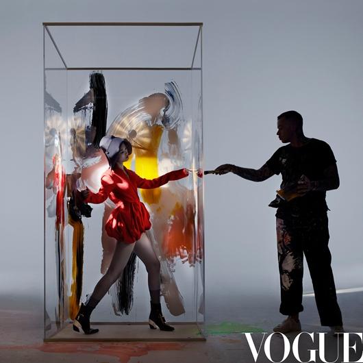 李宇春登《VOGUE》三月刊封面 Nick Knight掌镜创意概念融入绘画艺术