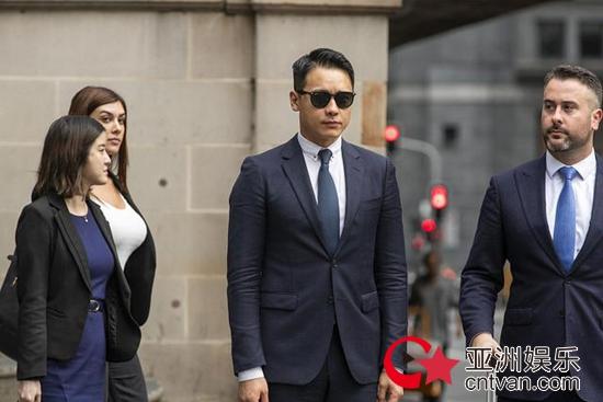 高云翔涉嫌性侵案宣判 无罪释放当庭落泪