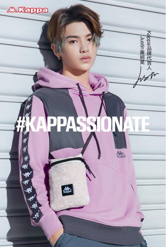 Kappa宣布黄明昊成为品牌代言人