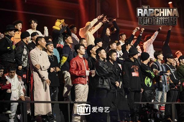 《中国新说唱2020》历届三强上演最强Cypher 吴亦凡跳掉耳返张靓颖:没白来