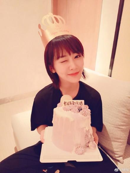杨紫别祝我生日快乐 却转头向张一山索要祝福语!