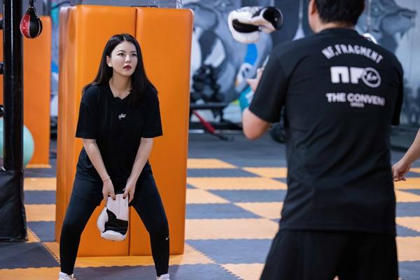 《好身材2》程潇灵超师生重聚大玩滑板 杨迪和妈妈挑战rap合唱
