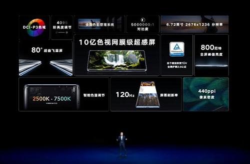 10亿色超感屏加持色彩管理系统,荣耀V40开启手机屏幕新标准