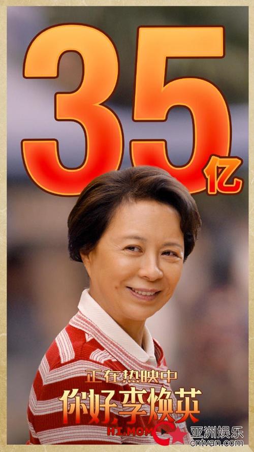 你好李焕英票房破35亿 位列中国影史票房第7名