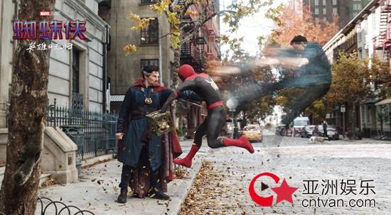 《蜘蛛侠:英雄无归》预告引爆全网 漫威多元宇宙点燃影迷年度期待
